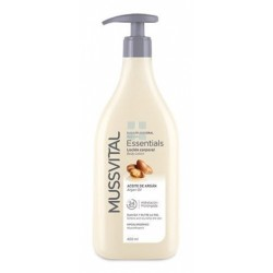 Mussvital Essentials Body Milk de Aceite de Argan 400 ml