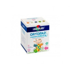 ORTOPAD PARCHE OCULAR FOR BOYS T- MEDIUM 50 PARCHES