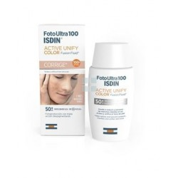 ISDIN FOTOULTRA SPF100+ ACTIVE UNIFY FUSION FLUID COLOR 50 ML