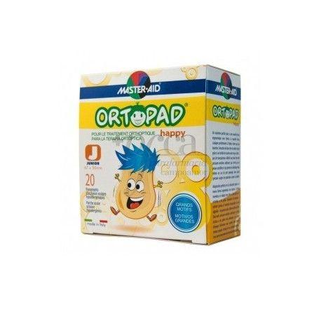 Ortopad Happy Parche Ocular Junior