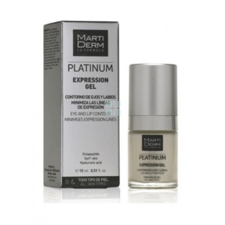 Martiderm Expression Platinum  Contorno Ojos y Labios 15 ml