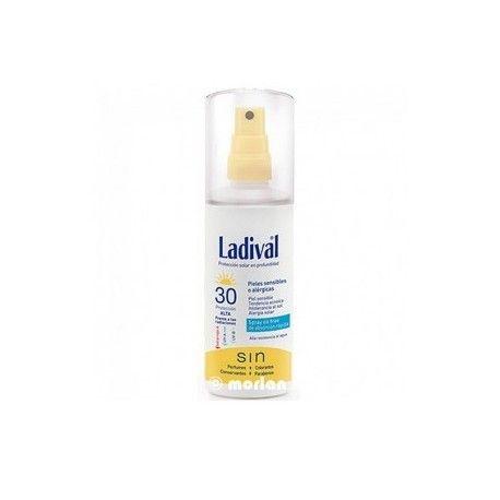 Ladival Piel Sensible Alergica Fps 30  Gel-Spray 150 ml