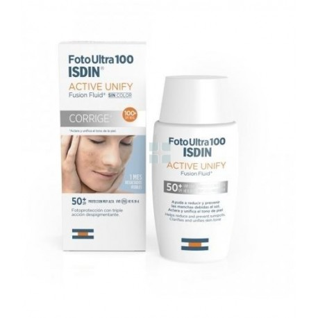 Isdin Fotoultra SPF100+ Active Unify Fusion Fluid 50 ml