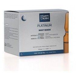 Martiderm Platinum Night Renew 30 Ampollas