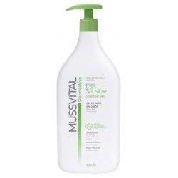 Mussvital Dermactive Locion Hidratante Piel Sensible 1000 ml
