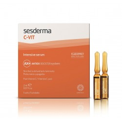 SESDERMA C-VIT INTENSIVE SERUM - EFECTO FLASH 2 ML 5 AMPOLLAS