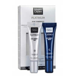 MARTIDERM PLATINUM EYE CORRECT KIT 10 ML + 10 ML