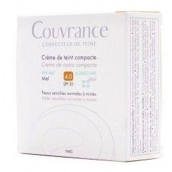 Avene Couvrance Crema Compacta Oil-Free Miel 10 gr