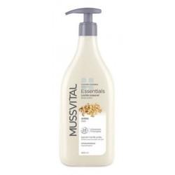 Mussvital Essentials Body Milk de Avena Pieles Secas 400 ml