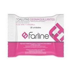 FARLINE TOALLITAS DESMAQUILLADORAS 20 TOALLITAS