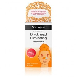 NEUTROGENA BLACKHEAD ELIMINATING TIRAS EXFOLIANT 6 U