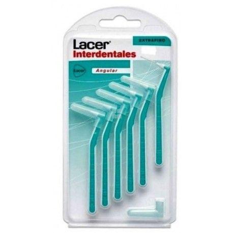 Cepillo Interdental Lacer Angular Extrafino 6 uds
