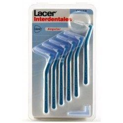 Cepillo Lacer Interdental Conico Angular 6 uds
