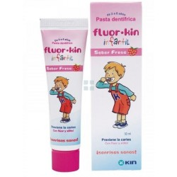 Kin Fluorkin Infantil Pasta Dental Fresa 75 ml