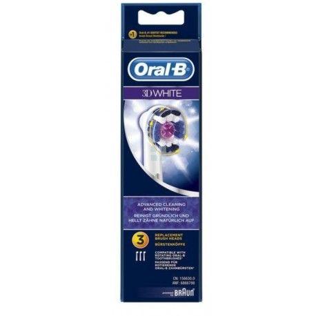 Oral-B Recambio 3D White 3 uds