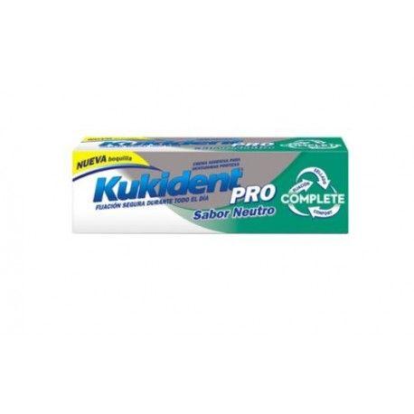 Kukident Pro Complete Crema Adhesiva Sabor  Neutro 47 gr