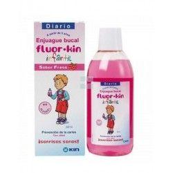 Fluor Kin Colutorio Infantil  Fresa 500 ml