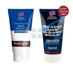NEUTROGENA DUPLO CREMA DE MANOS RAPIDA ABSORCION 2 X 75 ML