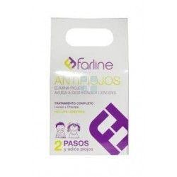 Farline Antipiojos Kit Locion + Champu