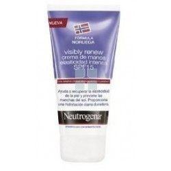 Neutrogena Visibly Renew SPF20 Crema de Manos Elasticidad Intensa 75 ml