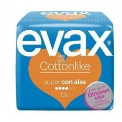 EVAX COTTONLIKE COMPRESAS SUPER CON ALAS 16 UNIDADES