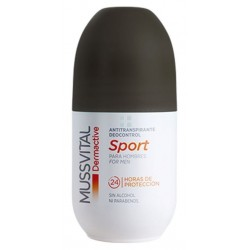 Mussvital Dermactive Deo Sport Hombres Roll-On 75 ml