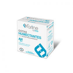 Farline Optica Gotas Humectantes 0.2% Ahialuroni 0.4 ml Monodosis 20 U