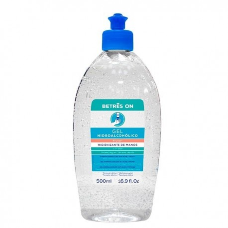 Gel Hidroalcoholico Betres On 500 ml