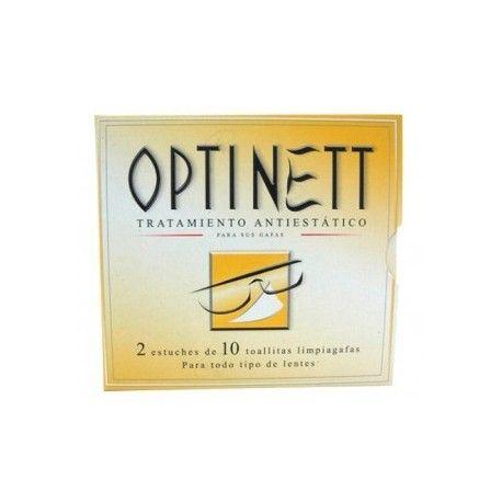 OPTINET TOALLITAS LIMPIA GAFA