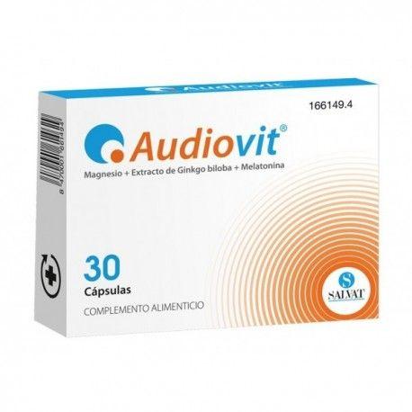 Audiovit 30 cápsulas