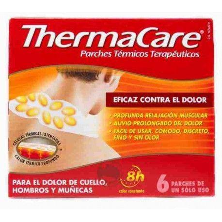 Thermacare Cuello Hombros y Muñecas Parches Term 6 Parches