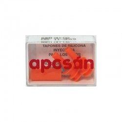 Tapones Oidos Silicona Aposan Adultos2 U