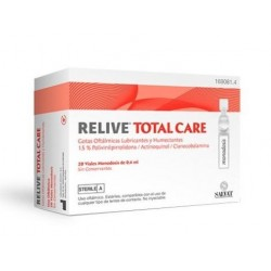 Relive Total Care Gotas Oftalmicas Esteril 0.4 ml 20 Monodosis