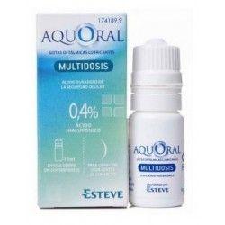 Aquoral Gotas Otalmicas Multidosis 10 ml