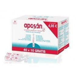 Aposan Suero Fisiologico Monodosis 5 ml 50 U