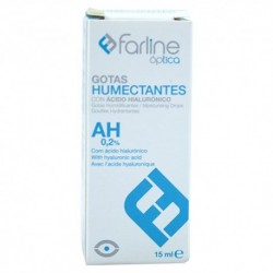 Farline Optica Gotas Humectantes 0.2% Ahialuroni 15 ml