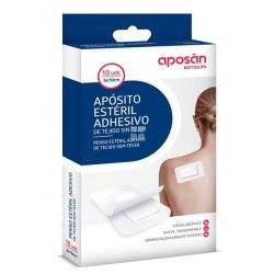 APOSAN APOSITO ESTERIL TEJIDO SIN TEJER 10 APOSITOS 6 X 10 CM