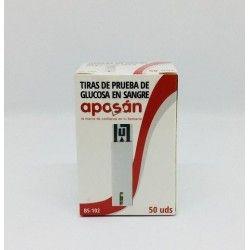 Tiras Reactivas Glucemia Aposan 25 U