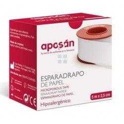 APOSAN ESPARADRAPO DE PAPEL 5X2.5 CM