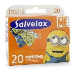 Salvelox Tiritas Minions 20 uds