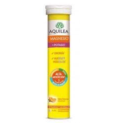 Aquilea Magnesio y Potasio 14 Comprimidos Efervescentes