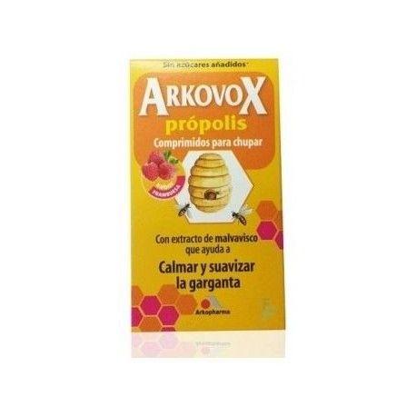 Arkovox Propolis 24 Comprimidos Sabor Frambuesa