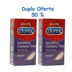 Duplo Durex Sens Total 12 uds