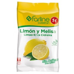 Farline Sweetsin Caramelos Limon Melisa Bolsa 50 G