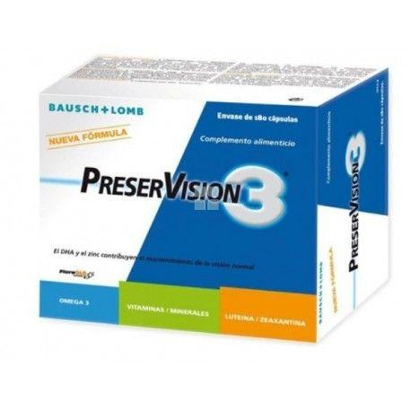 Preservision 3 60 cápsulas