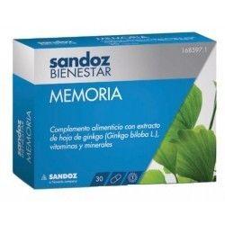 Sandoz Bienestar Memoria 30Cap