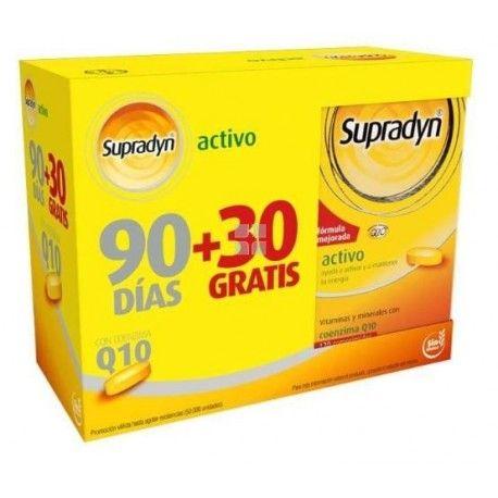 Supradyn Activo Pack 90 + 30 Comprimidos