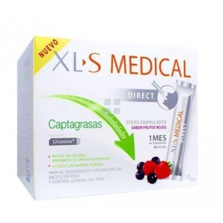 Xls Medical Captagrasas Stick 1 Mes