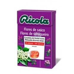 Ricola Caramelos Sin Azucar Flor de Sauco 50 gr