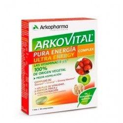 Arkopharma Arkovital Pura Energía Ultra 30 Comprimidos